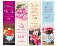 Christian Printable Bookmarks Instant download Bible Verse. scripture verses of encouragements book mark