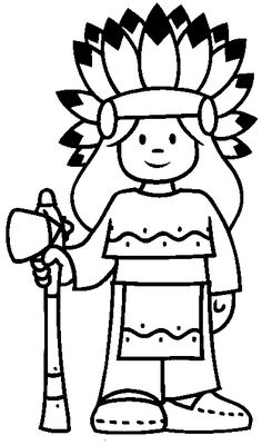 indian images to color | Indian Coloring Pages - Coloringpages1001.com
