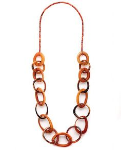 Keeta Link Necklace - not quite as nice as Greetje's!