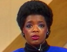 Oprah Winfrey before the billions.