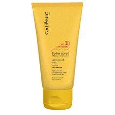 Galenic Soins Soleil Lait Veloute Corps HP SPF30 150ml Shampoo, Bottle, Beauty, Milk, Sun, Flask, Jars