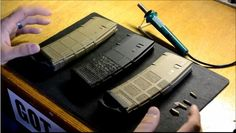 Stippling an AR-15 Magpul PMAG | Best AR15 Hacks and Tips #SurvivalLife www.SurvivalLife.com
