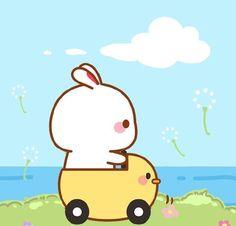 Chibi Cat, Kawaii Illustration, Bear Cartoon, Funny Bunnies, Cute Doodles, Cute Pins, Cute Cartoon Wallpapers, Cute Images, Hello Kitty
