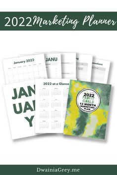 Not sure what to promote? Want to add timely sales to your marketing but not sure how?Buy the easy to use 2022 Profit Goals: 12 Month Marketing Planner.The 2022 Profit Goals: 12 Month Marketing Plan step-by-step marketing planner is for any Empowerpreneur (author, public speaker, coach, creator, blogger – any small business owner). Marketing Plan, Marketing And Advertising, Online Marketing, Digital Marketing, Planning And Organizing, Blog Planner, 12 Months, Promotion, Public