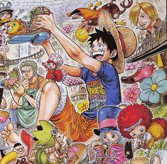 One Piece Crew, One Piece 1, One Piece Comic, One Piece Luffy, One Piece Pictures, One Piece Images, Manga Anime One Piece, Anime Manga, Anime Art Girl