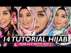 14 TUTORIAL HIJAB LEBARAN SIMPEL CEPAT DAN KEKINIAN | HIJAB SEGI 4 SILK SATIN MOTIF - YouTube Tutorial Hijab Segi 4, Cara Hijab, Breastfeeding Benefits, Headgear, Fashion 2020, Silk Satin, Hijab Fashion, Islam, Simple