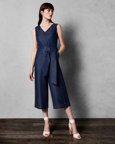 a94631f8efc PIPERE Stitch detail jumpsuit  TedToToe Cruise Wear
