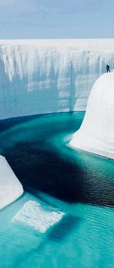 Greenland's Great Ice Canyon