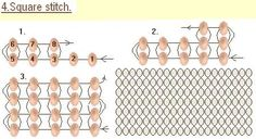 "Basic Stitch ""SQUARE stitch"""