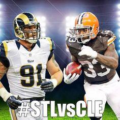 #STLvsCLE: 8pm ET go Cleveland browns