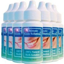Ultimate Gum Solution- Oral Hygiene for Gum Disease, Gum Disease Remedy, Periodontal Gum Problems - 7 Pack
