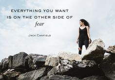 Fear cripples our minds and points us into the opposite direction our dreams. When we fall into fear's trap, we are destined for lives of mediocrity and wasted potential. Jack Canfield, Break Free, Verse Of The Day, Your Word, The Other Side, Psalms, Favorite Quotes, Quotes To Live By, Mindfulness