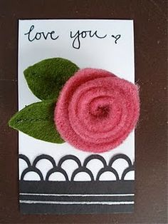 DIY felt rosette tutorial