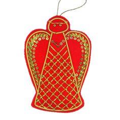 Christmas Angel Goldwork Kit - Embroidery Kits - Benton & Johnson Goldwork - Benton & Johnson