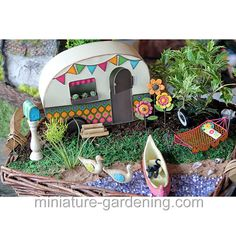 Camper Trailer: #fairyhouses