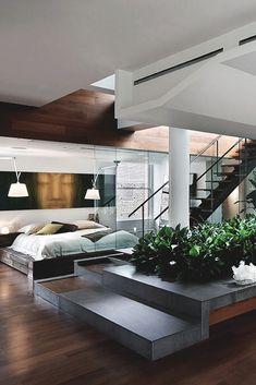modern house interior CV