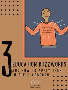 How can we take the buzzwords and use them for great education? Look at three current buzzwords and explore how they are used, how they are abused, and how they can be applied in real classrooms. | Cult of Pedagogy Cult Of Pedagogy, Big Words, Career Advice, Professional Development, 21st Century, Teacher, Classroom, Bling, How To Apply