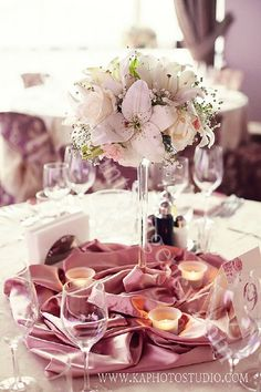 Floral decoration for the tables