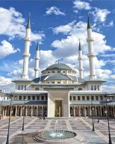 Mosque Architecture, Art And Architecture, Beautiful Mosques, Beautiful Buildings, Islamic World, Islamic Art, Ankara, Temples, Ramadan
