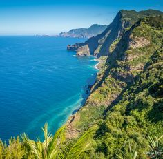 The incredible view from Quinta do Furão in Santana on the rugged north coast of #Madeira