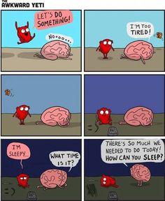 Heart vs Brain