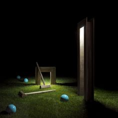 BRIDGE  Matter effect - croquette Sensory Garden, Source Of Inspiration, Malaga, Led Lamp, Lighting Design, Bridge, Outdoor Lamps, Resort, Street