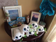 "TY Beanie Boos as ""Saoirse"" for Song of the Sea party theme take home thank you gifts (instead of loot bags) and a small candy treat with Thank you note attached"