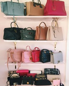 My weakness & because it's Simple Street Style, Bag Display, Gal Meets Glam, My Collection, Collection Displays, Cute Bags, Luxury Bags, Beautiful Bags, Clutch Wallet