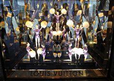 Paris Perfect Galeries Lafayette Christmas Windows 2012 Louis Vuitton Dancers
