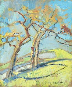 ANNE REDPATH, (1895-1965) BORDERS LANDSCAPE