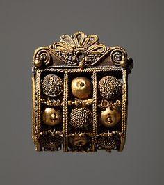 Pendiente etrusco del s. VI a. C:
