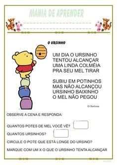 ATIVIDADE JARDIM III | Ideia Criativa - Gi Barbosa Educação Infantil