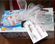 Ho Ho Ho Merry Christmas Gift... I hope HoHo's will come back! This is cute! For mail carrier
