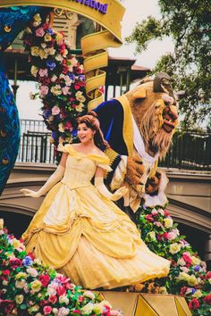 Beauty and the Beast at Disneyland
