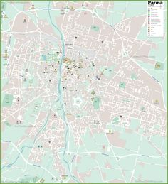 Large detailed map of Scottsdale Maps Pinterest Usa cities and