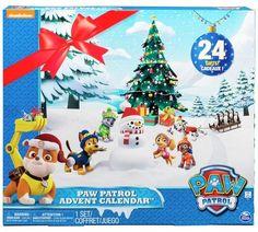 Paw Patrol Advent Calendar // Calendar Countdown #blogger #bblogger #christmas #adventcalendar #calendarcountdown #spinmaster #pawpatrol x