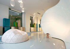 Modern Office Interior Design - in Paris  #modern #office #interior #design