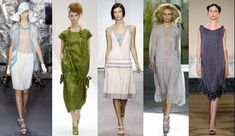 Historical style: Runway fashion influenced by the 1900s 1930s