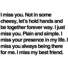 Funny Miss You Friendship Quotes   ... Friendship Pictures 2013: Missing Your Best Friend Quotes Images