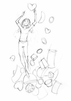 ¡Felicidades súper #mujeres!  #ilustración #boceto #FelizDiaDeLaMujer