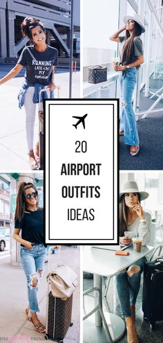 a20790c74390 20 Easy To Re-Create Stylish Airport Outfit Ideas. Comfy Airport OutfitAirport  OutfitsSummer ...
