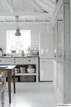 smeg,kylskåp,lantligt,lantligt kök,kök