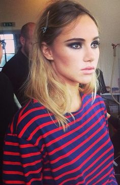 Suki Waterhouse #stripes