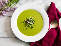Out of the Salad Bowl and Into the Blender: Transform Lettuce Into This Cool (or Hot) Soup