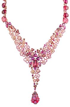 Necklace from the new Chaumet Hortensia Collection