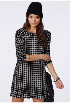 grid check dress - Google zoeken
