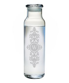 Baroque Initial Water Bottle