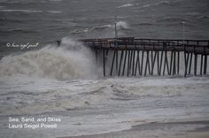 NOT Hurricane Joaquin, but still tropical storm like weather. Top 10 Ocean City MD photos