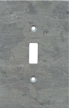 Grey Slate Light Switch Plates, Outlet Covers, Wallplates