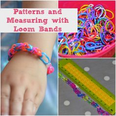 Science fun with loom bands